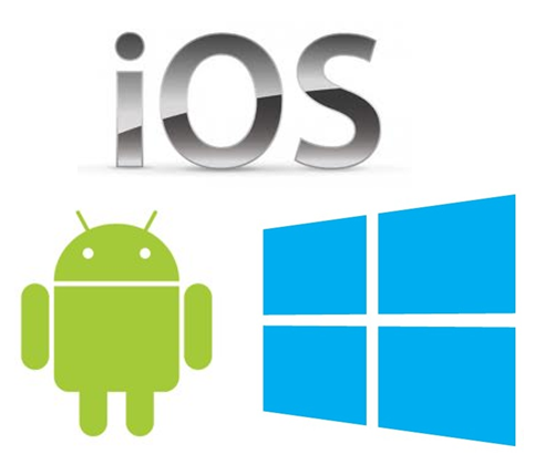 Android app|iOS app|Windows app